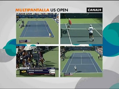Multipantalla US Open