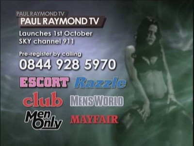 Paul Raymond TV